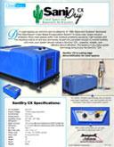 SaniDry™ CX Crawl Space & Basement Air System