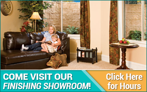 Come visit our Finishing Showroom!