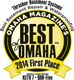 Thrasher Basement Systems best of Omaha Award